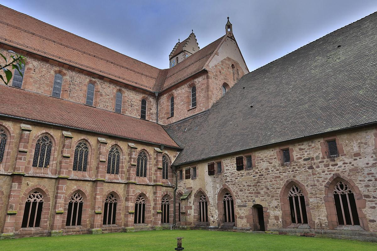 Exterior of Alpirsbach Monastery. Image: Staatliche Schlösser und Gärten Baden-Württemberg, Markus Schwerer