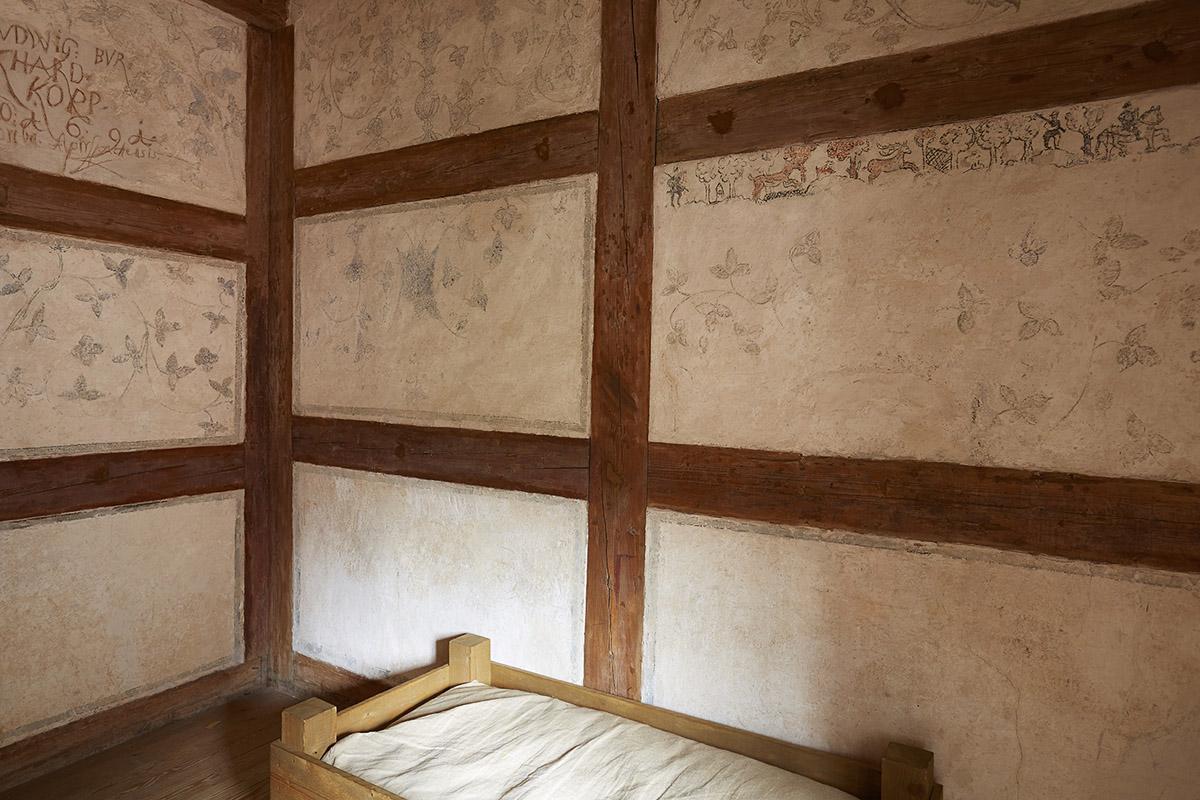 Dormitory at Alpirsbach Monastery. Image: Staatliche Schlösser und Gärten Baden-Württemberg, Markus Schwerer