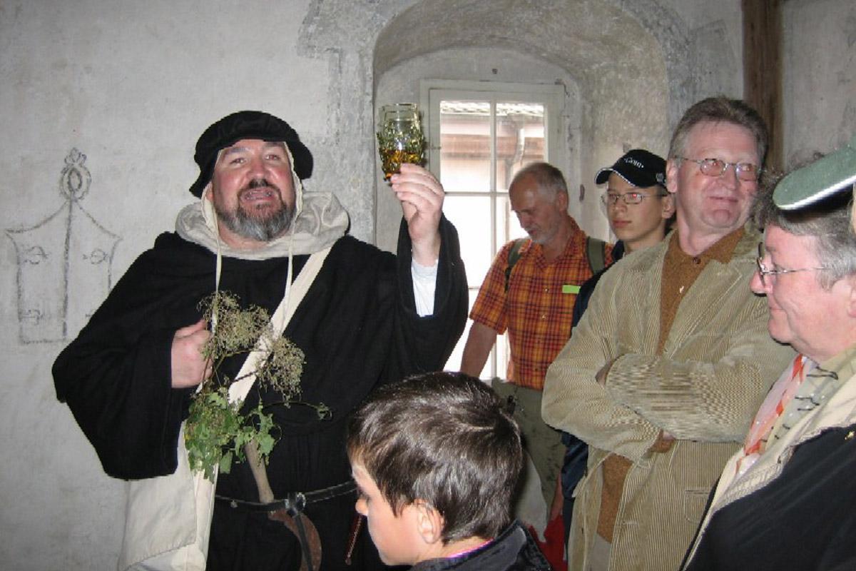 Besucher in Kloster Alpirsbach