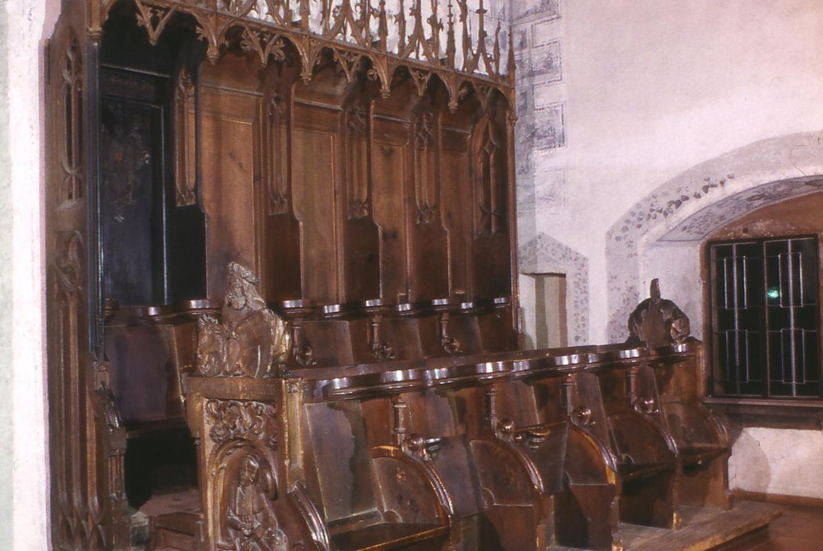 Chorgestühl der Kirche von Kloster Alpirsbach
