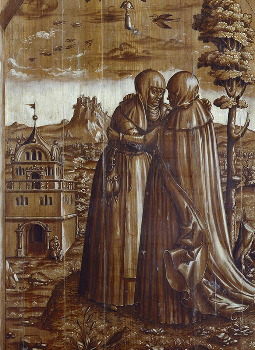 Szene des Marienaltar des Klosters Alpirsbach; Foto: Staatliche Schlösser und Gärten Baden-Württemberg, Dirk Altenkirch