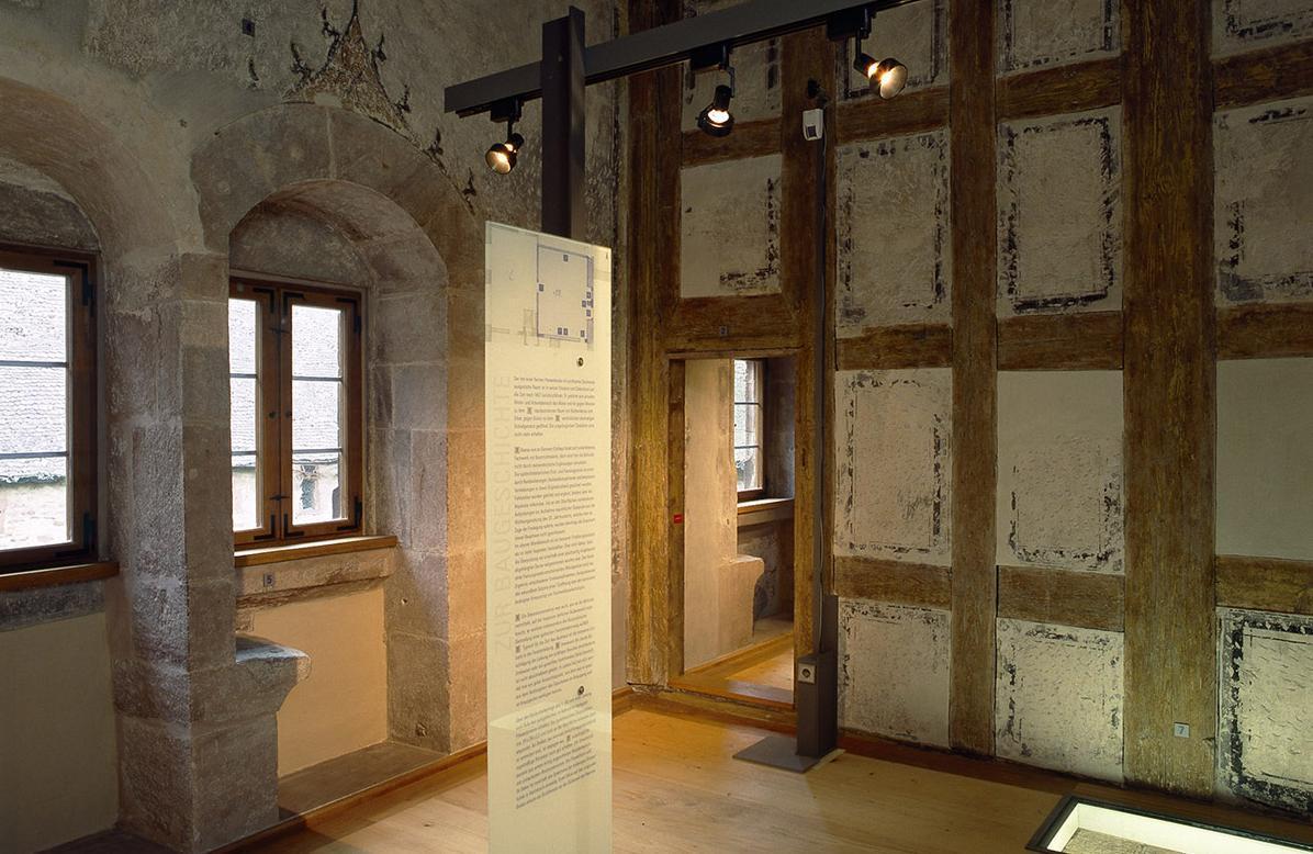 Blick in das Klostermuseum Alpirsbach; Foto: Staatliche Schlösser und Gärten Baden-Württemberg, Dirk Altenkirch