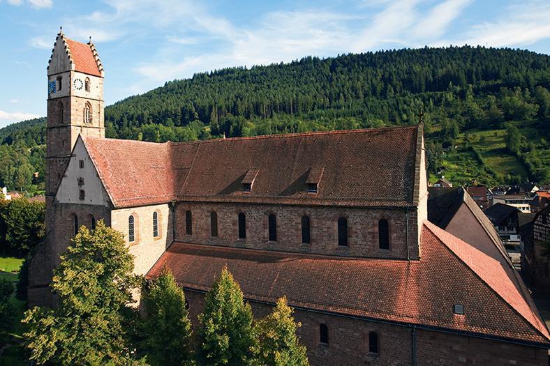 Ansicht von Kloster Alpirsbach
