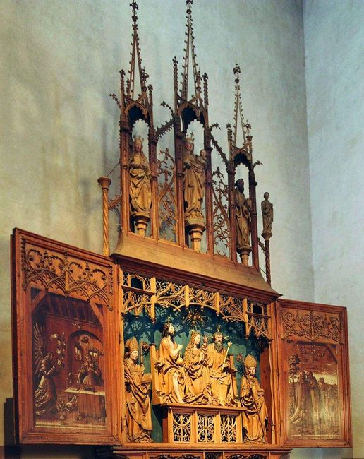 Alpirsbach monastery, Altar in the church