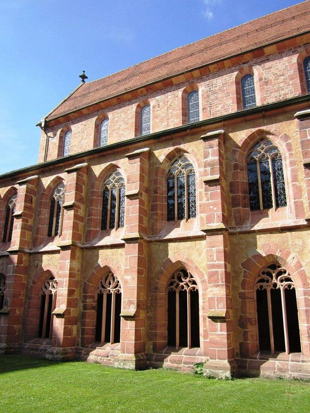Alpirsbach monastery, the cloister