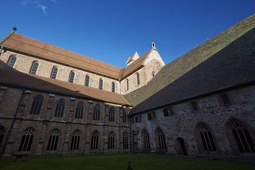 Exterior of Alpirsbach Monastery