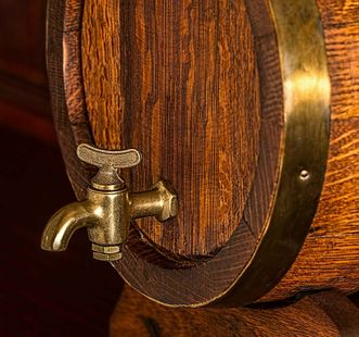 Beer barrel. Image: Pixabay, in the public domain