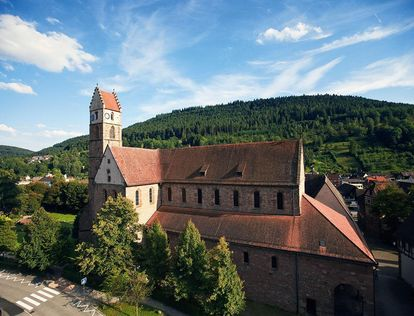 Alpirsbach Monastery. Image: Staatliche Schlösser und Gärten Baden-Württemberg, Achim Mende
