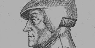 Porträt des Ambrosius Blarer aus dem 16. Jahrhundert