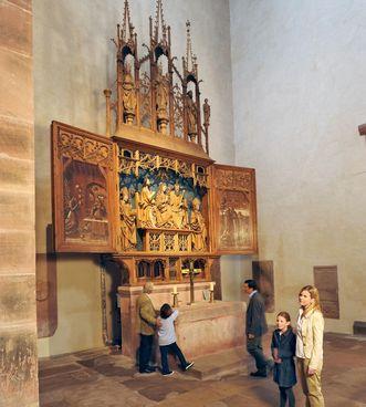 Abbaye d'Alpirsbach, visiteurs