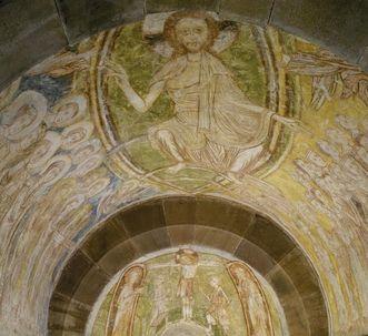 Detail of a fresco at Alpirsbach Monastery. Image: Staatliche Schlösser und Gärten Baden-Württemberg, Arnim Weischer