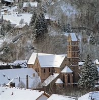 Kloster Alpirsbach im Winter