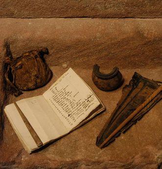 Details from the monastery find. Image: Staatliche Schlösser und Gärten Baden-Württemberg, Werner Hiller-König