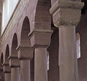 Interior of the church at Alpirsbach Monastery. Image: Staatliche Schlösser und Gärten Baden-Württemberg, Arnim Weischer