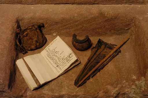 Part of the find at Alpirsbach Monastery. Image: Staatliche Schlösser und Gärten Baden-Württemberg, Werner Hiller-König