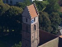 Glockenturm des Klosters Alpirsbach