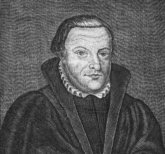 Erhard Schnepf, Kupferstich; Foto: Wikipedia, gemeinfrei