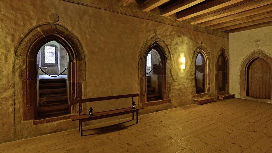 Interior view of Alpirsbach Monastery. Image: Staatliche Schlösser und Gärten Baden-Württemberg, Markus Schwerer